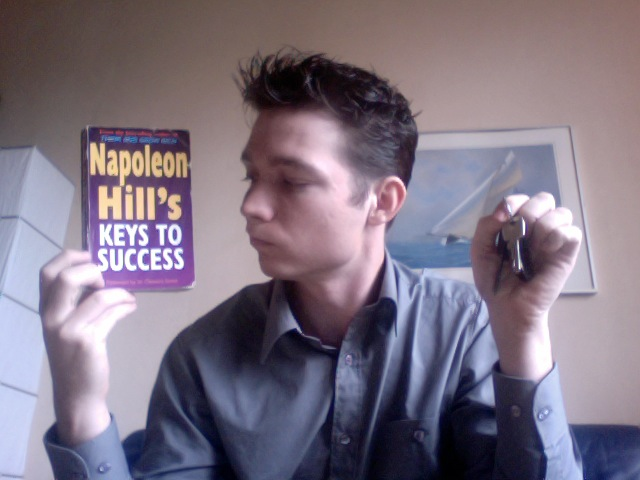 Goed marketingboek: Napoleon Hill's Keys to Success