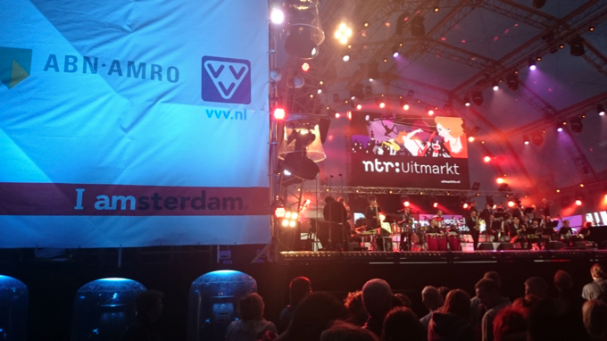 Uitmarkt hoofdpartner ABN AMRO VVV EN AMSTERDAM MARKETING