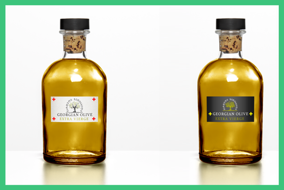 Georgian Olive: Concepts which should be further developed by a professional Dutch designer