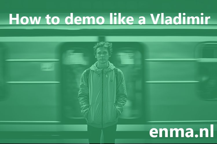3 tips to demo like a pro: observations on a random Russian